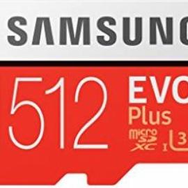 Tarjeta de memoria Samsung Evo Micro sd 512GB