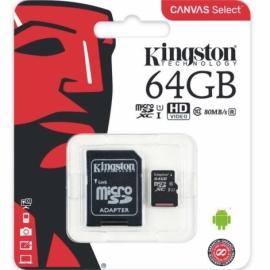 Tarjeta de Memoria kingston sd 64GB